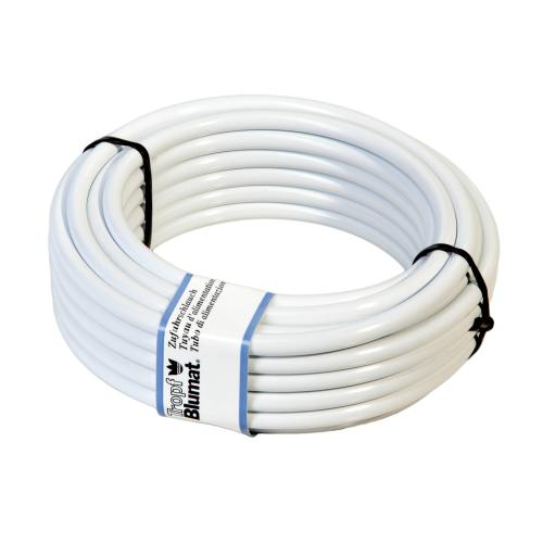 Water supply tubing, white, 10 m, 8 mm diameter